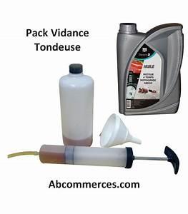 Huile Tondeuse 4 Temps : pack vidange tondeuse autoport e 4 temps ~ Dailycaller-alerts.com Idées de Décoration