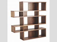 ANTONN Tall walnut veneer shelving unit Buy now at