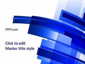 Free Background Blue Powerpoint Template