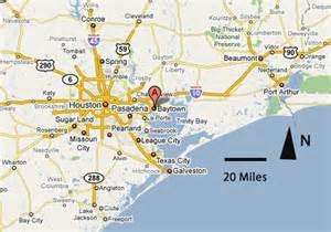 Texas Map Baytown TX