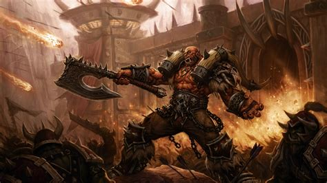 wallpaper siege  orgrimmar world  warcraft artwork