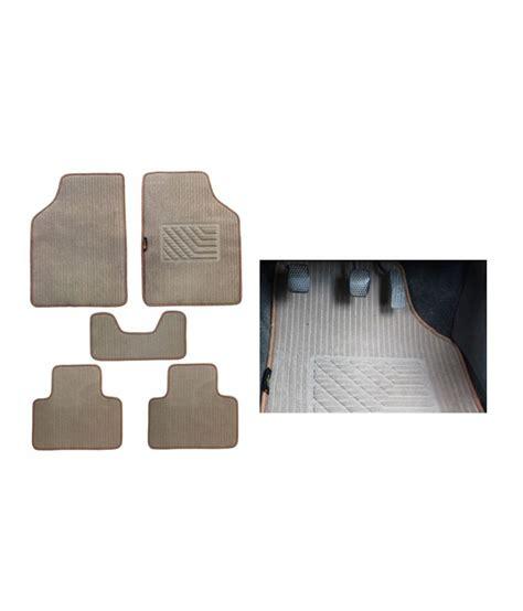 floor mats for zen estilo speedwav carpet beige car floor foot mats maruti zen estilo buy speedwav carpet beige car