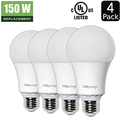 17w 150 watt equivalent 4 pack a21 led light bulb