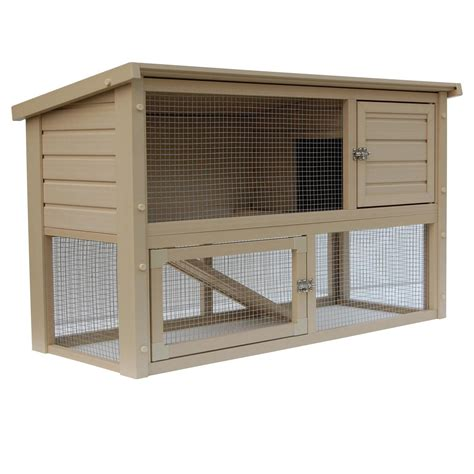 hutch company number new age pet eco concepts columbia rabbit hutch with pen