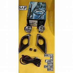 Yellow Plastic Innova Crysta Car Fog Lamp  Rs 2000   Set