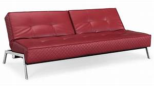 dino red leather convertible sofa beds With red leather sectional sofa bed
