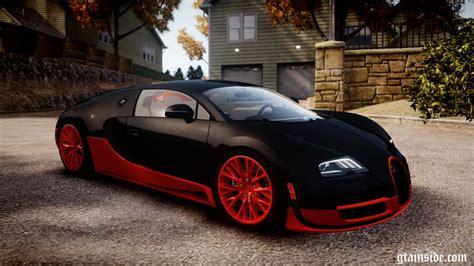 Gta 4 2011 Bugatti Veyron 16.4 Super Sport Mod