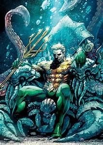 Dc, Aquaman, Throne, Of, Atlantis, Mightyprint, U2122, Wall, Art, Mp17240438