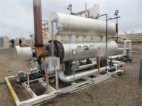evco hot oil heater skid     surplus