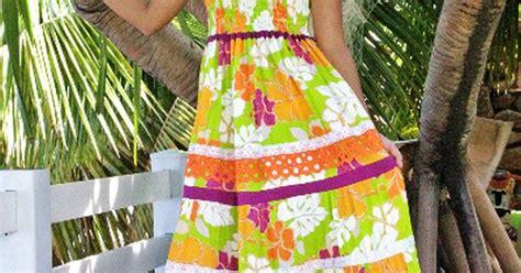 cuisine tahitienne traditionnelle vahine en robe tahitienne elise créations de tahiti