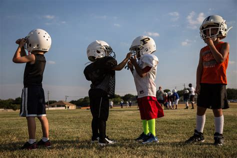 opinion dont  kids play football   york times