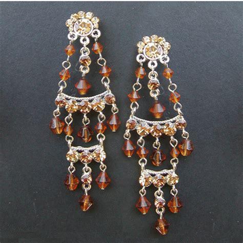 mexican chandelier earrings mexican style chandelier earrings