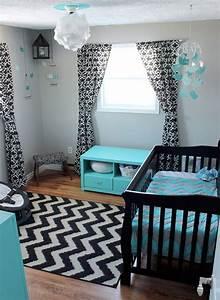 idees deco pour une chambre bebe rock idees cadeaux de With chambre turquoise et noir