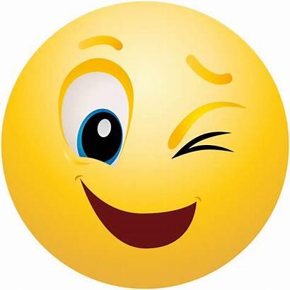 Emoticon Emoji Clipart Winking Info Downloads Resolution