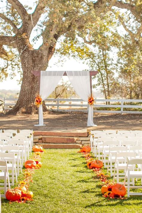 40 Outdoor Fall Wedding Arch And Altar Ideas Fall