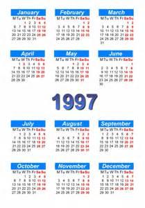 calendar 1997 to print and in pdf abc calendar