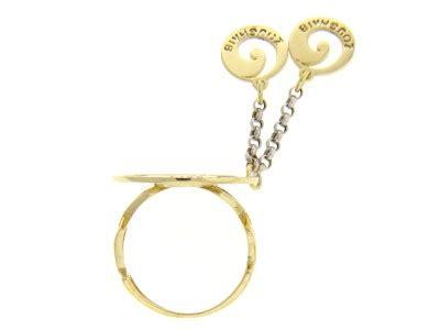 18k Gold Zoughaib Circle Ladies Ring Designer Jewelry