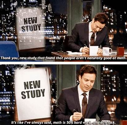 Thank Math Funny Quotes Notes Jimmy Fallon