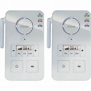 Interphone Sans Fil Legrand : sonnette sans fil comparatif carillon sans fil ~ Edinachiropracticcenter.com Idées de Décoration