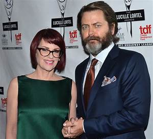 Parks and Recreation's Wedded Weirdos Megan Mullally and