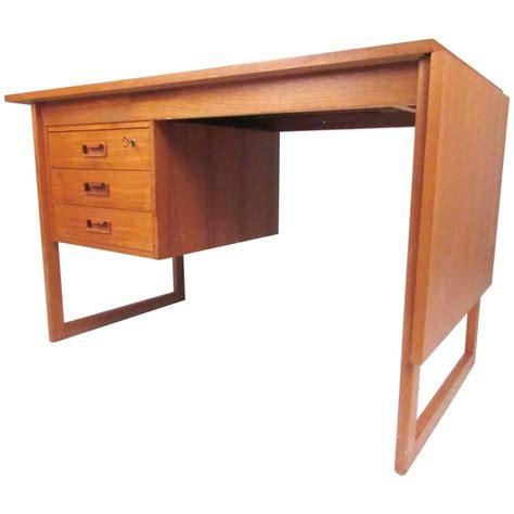 danish modern desk l danish modern drop leaf teak desk in the style of arne