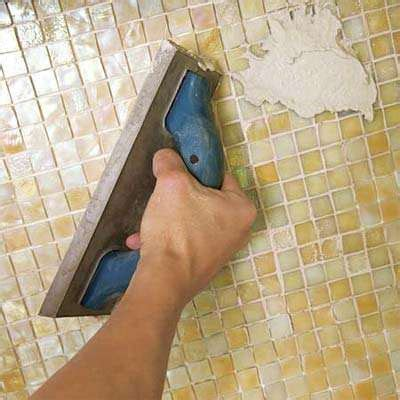 grouting mosaic tile technical tidbits the intricacies of installing a mosaic