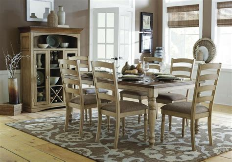 wood dining room sets casual country solid wood dining table chairs dining