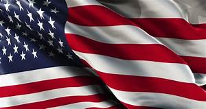 Old Film Of American Flag Waving Stock Footage Video ...