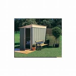 Abri De Jardin En Kit : abri de jardin colorbond en m tal 3 78m kit ancrage treco ~ Dailycaller-alerts.com Idées de Décoration