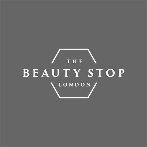 beauty stop logo design jm graphic design