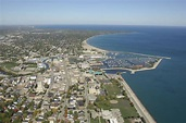 Racine Harbor in Racine, WI, United States - harbor ...