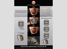 GOATEESAVER The Goatee Shaving Template! Peewee's blog