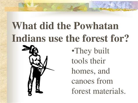 Ppt The Powhatan Indians Of The Eastern Woodland Region