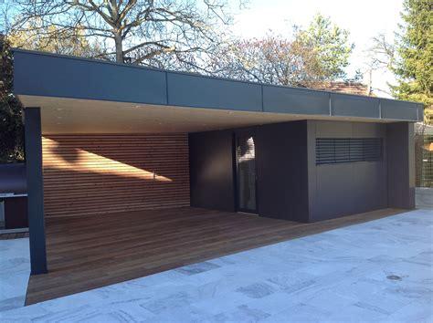 abri de cuisine abri de jardin en bois avec terrasse abt construction bois