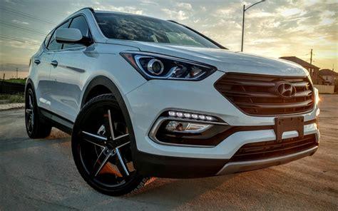 Hyundai Santa Fe 4k Wallpapers by Imagens Hyundai Santa Fe 2017 Vista Frontal 4k