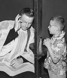 Image result for Image Catholic confessional With Priest