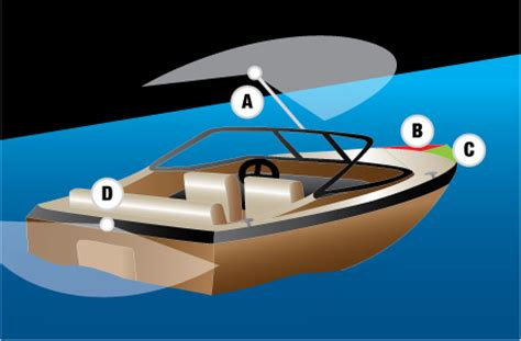 Where To Mount Boat Navigation Lights by Free Official Canadian Boating License Aceboater