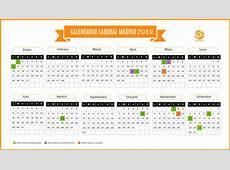 Calendario Laboral Madrid 2019 Suárez y Rodríguez Asesores