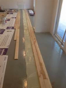how to install solid hardwood floors on concrete slab With how to put down hardwood floors on concrete