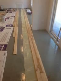 hardwood flooring over concrete gluing down prefinished SOLID hardwood floors directly ...