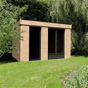 Toit En Bois : abri de jardin bois toit plat 10 91 m ep 90 mm d cor ~ Melissatoandfro.com Idées de Décoration