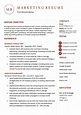 Professional Resume Examples Marketing Resume Example ...