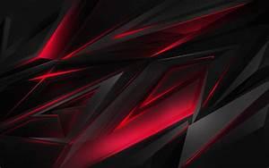 Abstract, Dark, Red, 3d, Digital, Art, Hd, Abstract, 4k