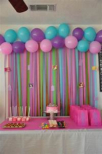 Lego Friends Birthday Party Ideas Party backdrops