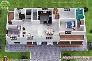 3, Storied, House, Plan