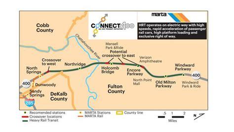 marta chooses route for line extension atlanta