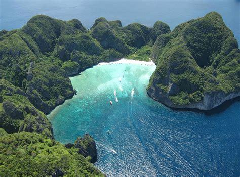 Maya Bay Thailand Paradijs Op Koh Phi Phi Leh