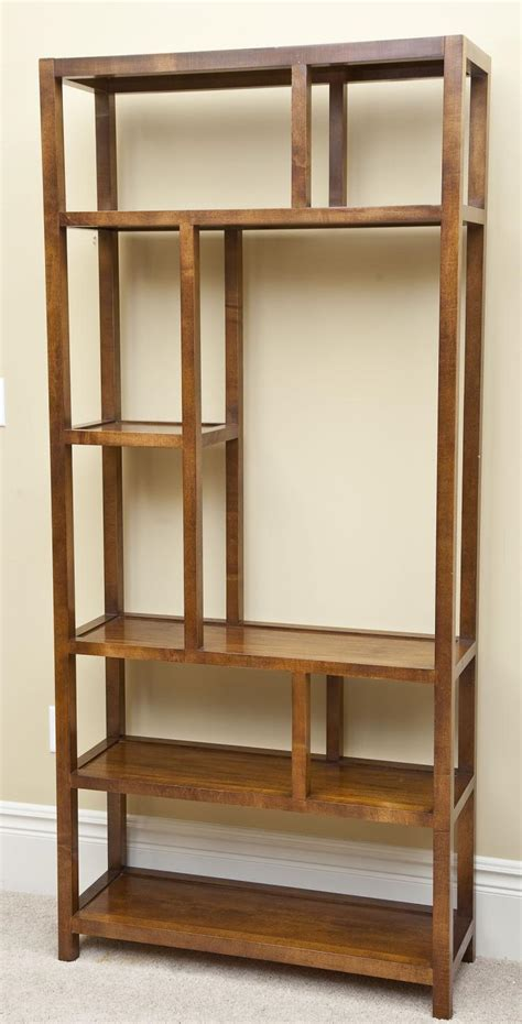 Etagere Shelves by Wooden 5 Shelf Etagere