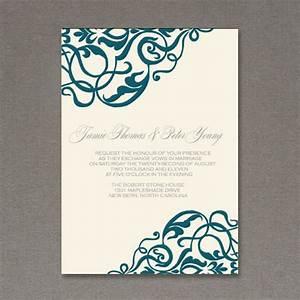 wedding invitation wording elegant wedding invitation With free printable customizable wedding invitations