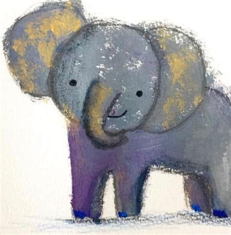 die besten  elefant malen ideen auf pinterest